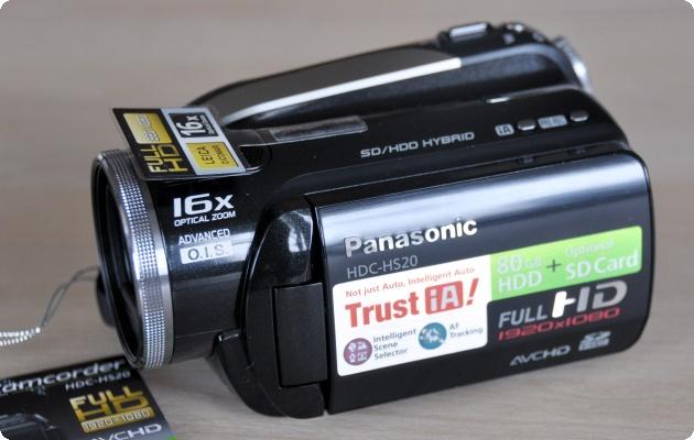 Panasonic HDC-HS20