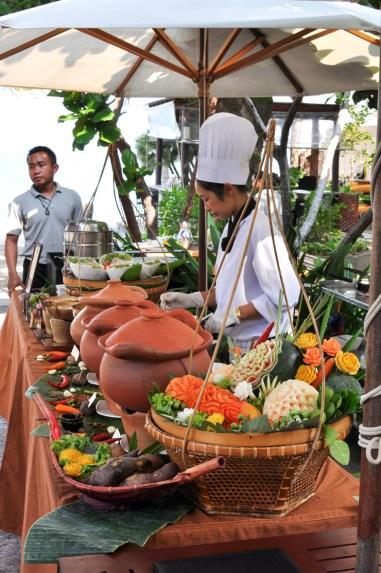 Curry Parade på Asara Villa & Suite