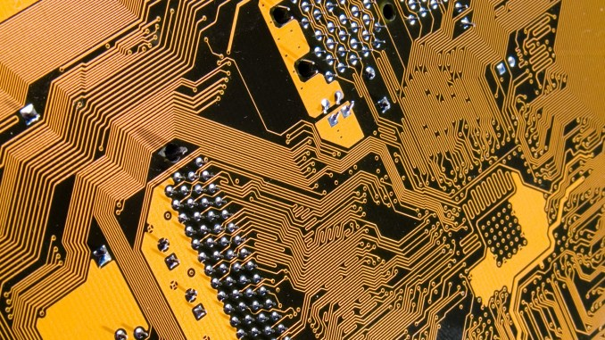 Computer Circuit Board Image
