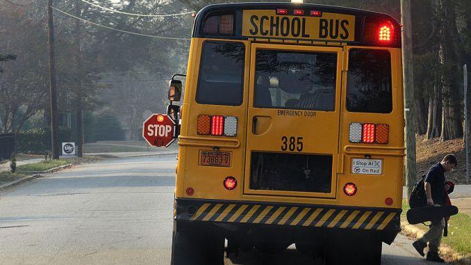 School Bus Image   Robert Reed Photo