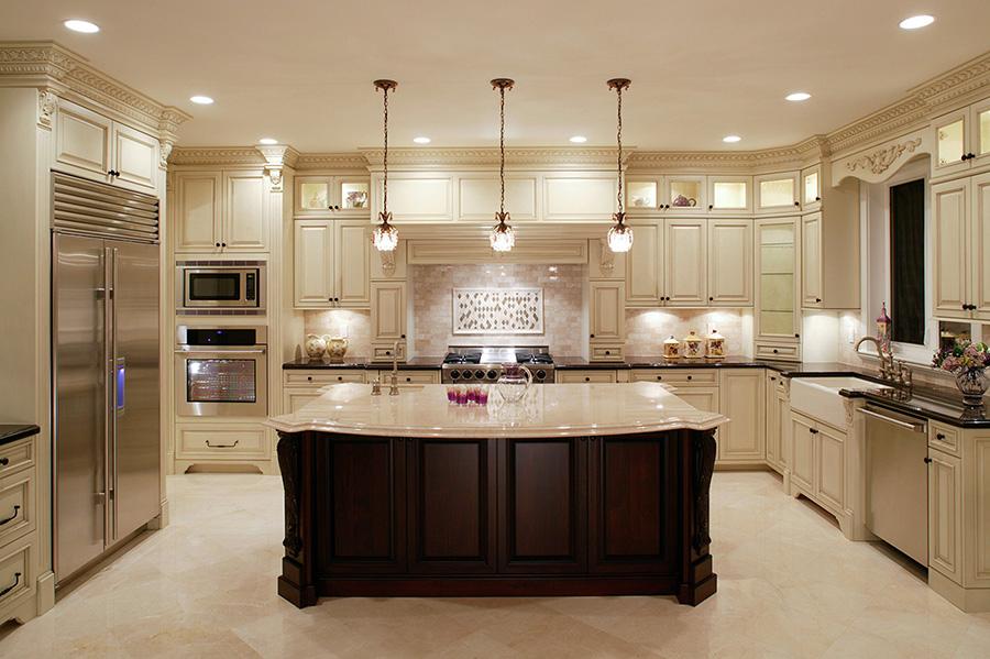 Contemporary White Kitchen | Caseworx