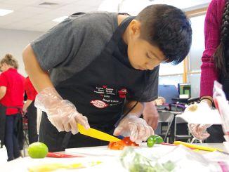 Grandview Student Cook | John Bailey Photo