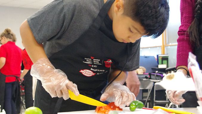 Grandview Student Cook | John Bailey Photo