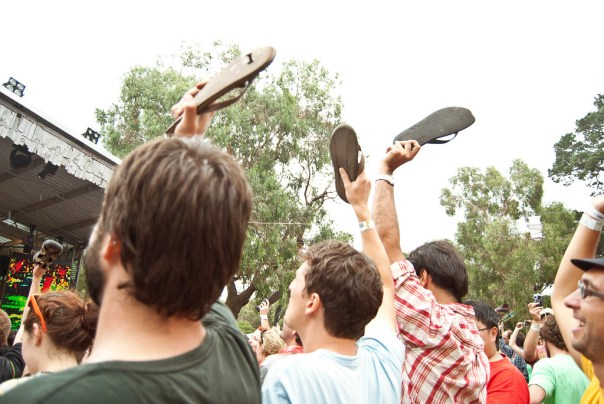 'Boot Salute' at Golden Plains Festival, 2012