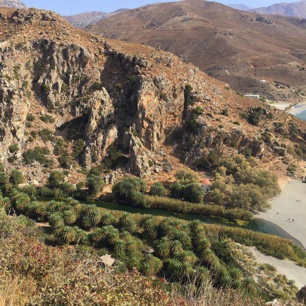 Preveli palm forest, Crete