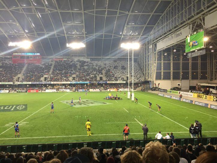 Highlanders vs Stormers @ Forsyth-Barr Stadium