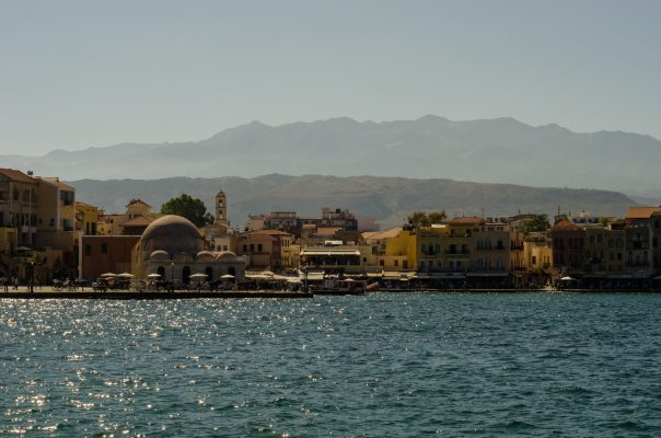 Mosque of the Janissaries on the Venetian port, Chania, Crete