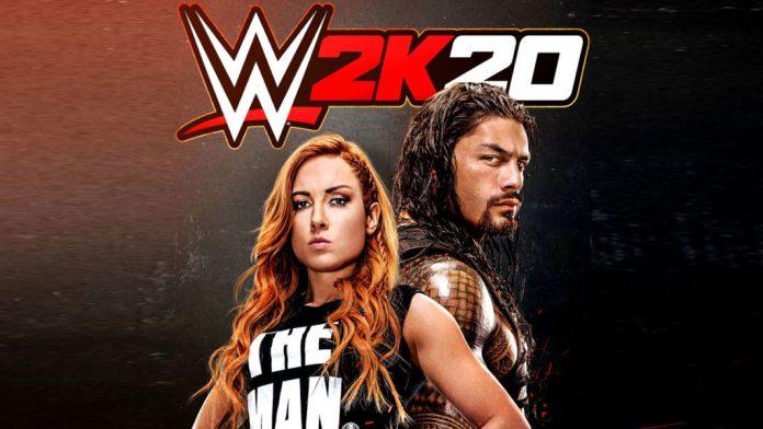 Le retour des salons en ligne sur WWE 2K20