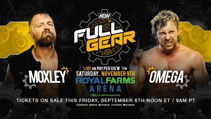 AEW Full Gear Jon Moxley vs Kenny Omega