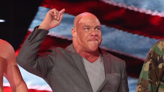 Kurt Angle a un nouveau rôle à la WWE