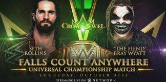 The Fiend vs Seth Rollins à Crown Jewel