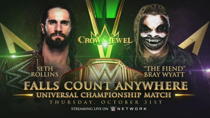 The Fiend vs Seth Rollins à Crown Jewel