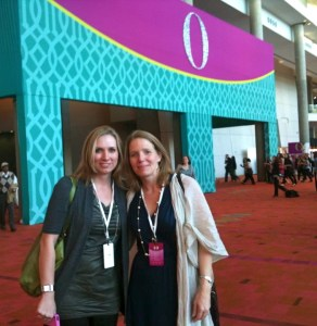 Alyce & I at O You!