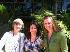 Gail Kenny, Ashley Folsom, & I