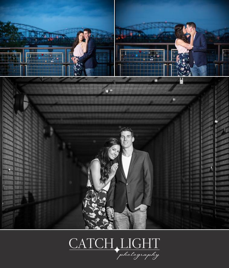 Kansas City engagement photography in the Rivermarket