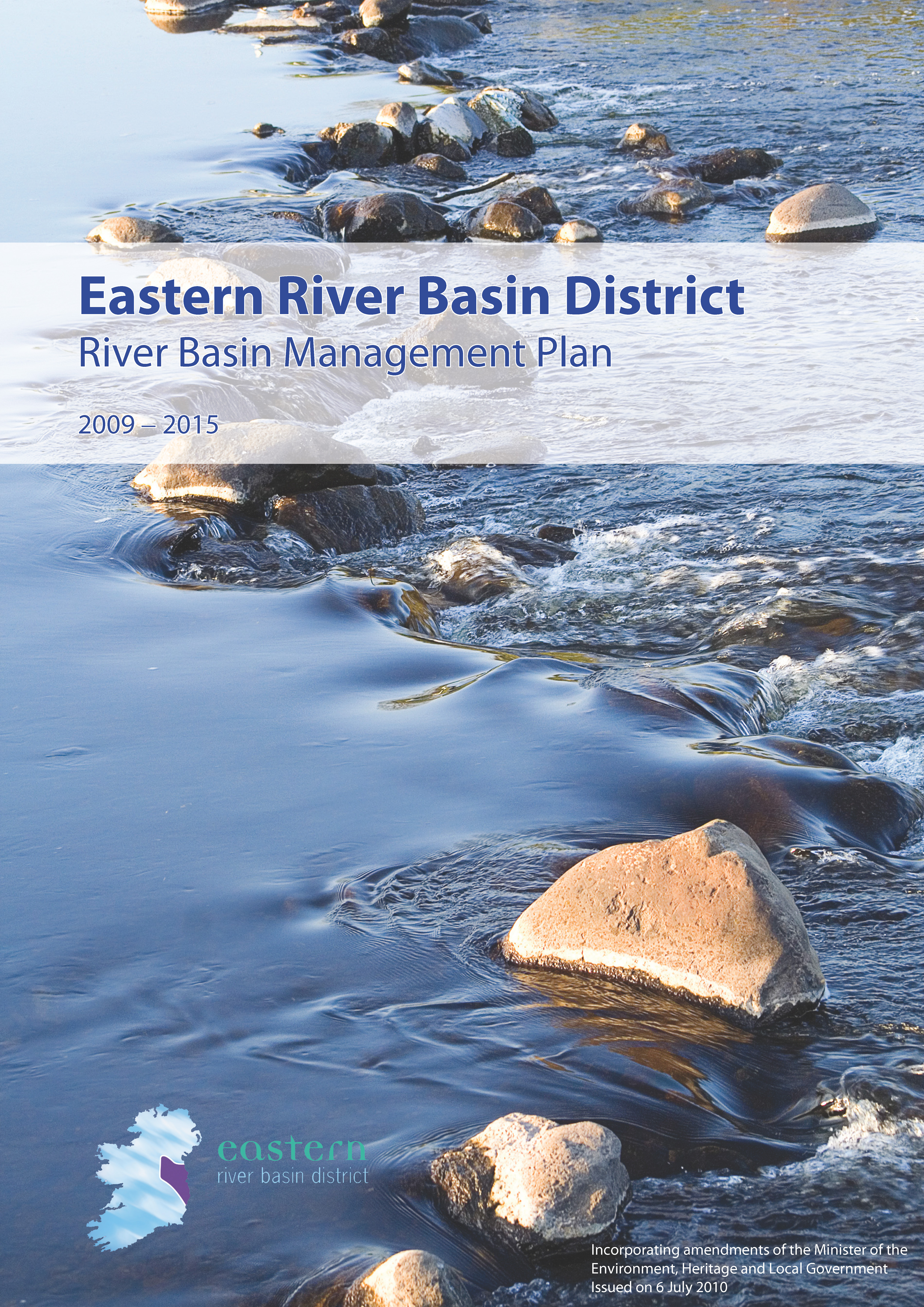Cover from Eastern River Basin District River Basin Management Plan 6 July 2010