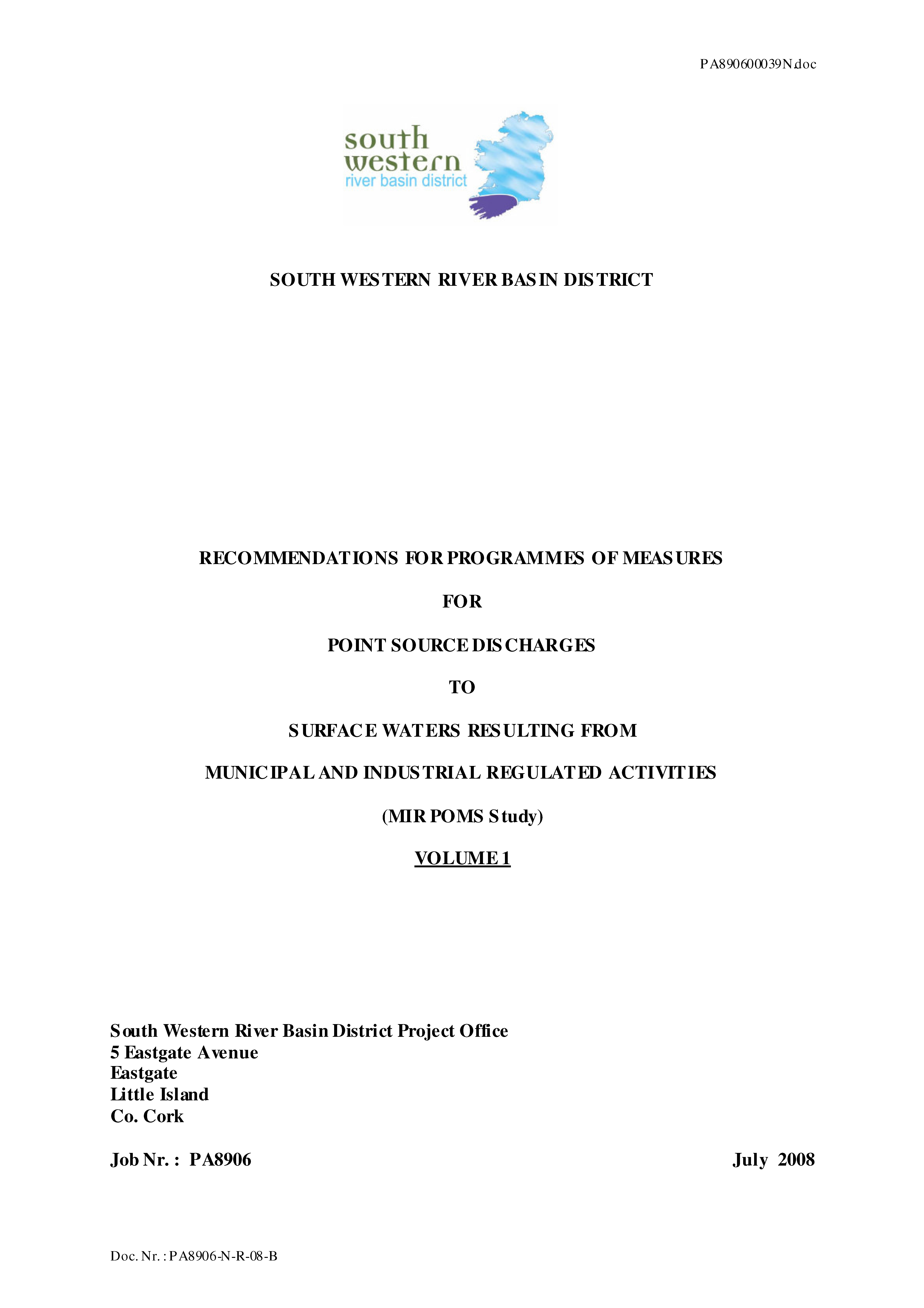 Cover from Municipal_Industrial_Regulations_POMS_pdf
