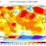 NASA GISS Temperature Anomaly