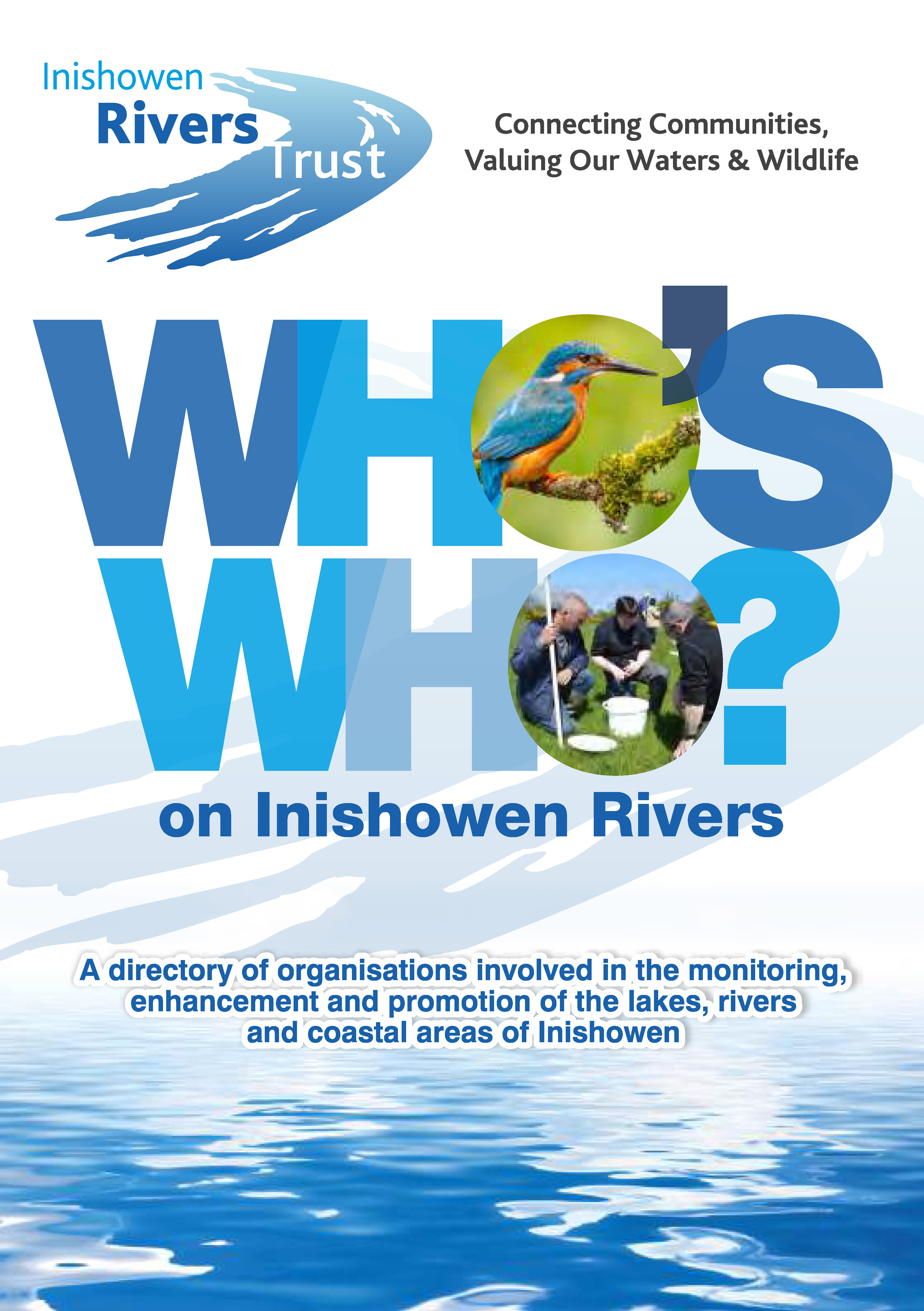 Inishowen Rivers Trust Who's Who Front Cover