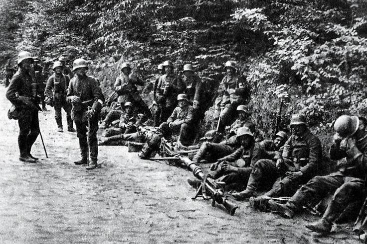 24th October, 1917 | The Battle of Caporetto