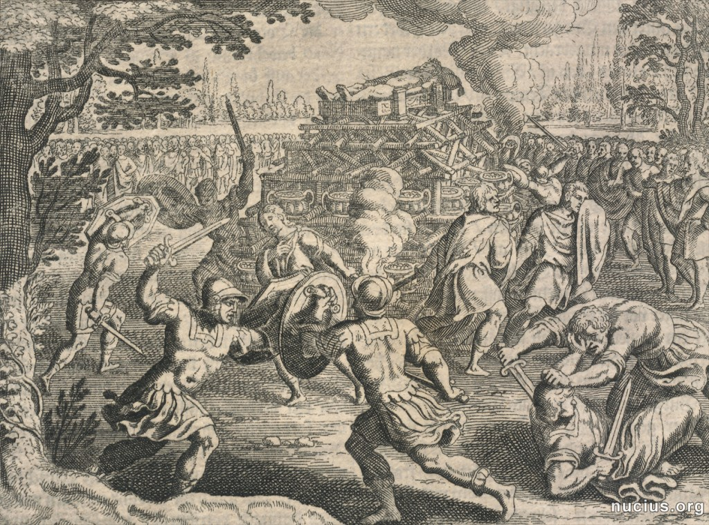 A copper engraving by Matthaeus Merian, found on nucius.org