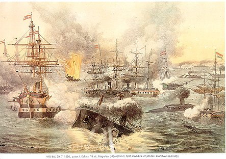 F. Kollarz, 'Battle of Lissa'