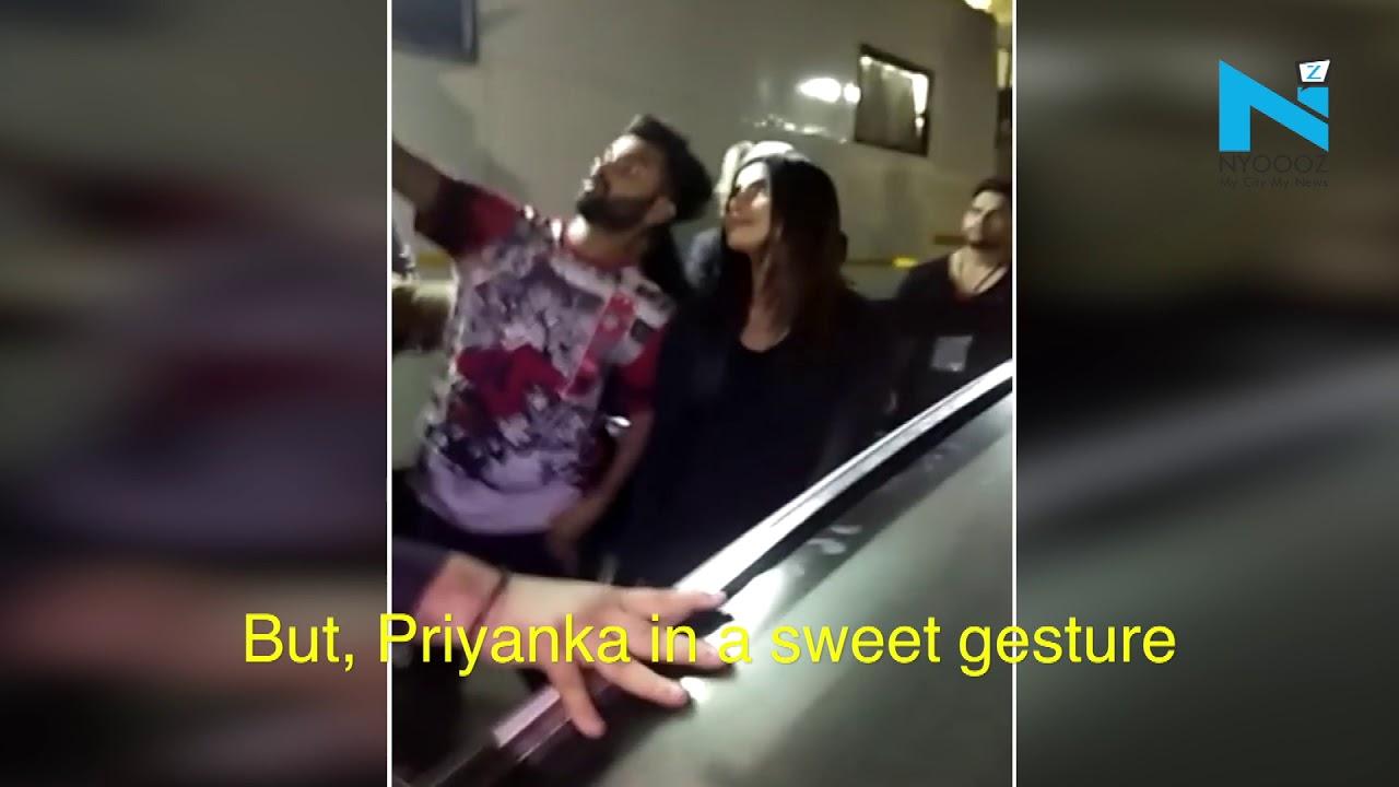 Priyanka Chopra fulfills the wish of a diehard fan