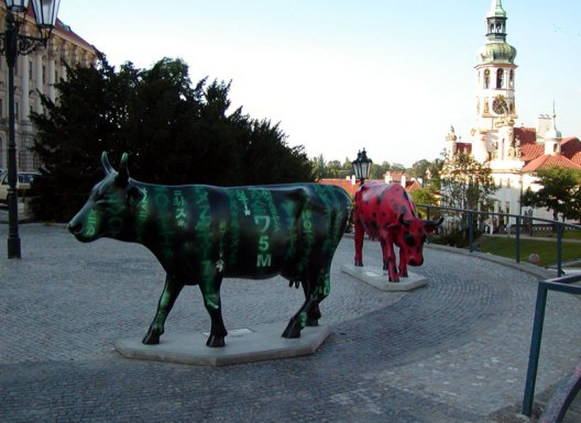 Matrix-cow