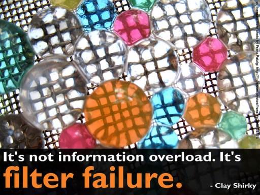 Filter failure