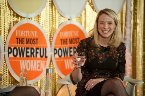 Fortune Most Powerful Women Dinner With Marissa Mayer