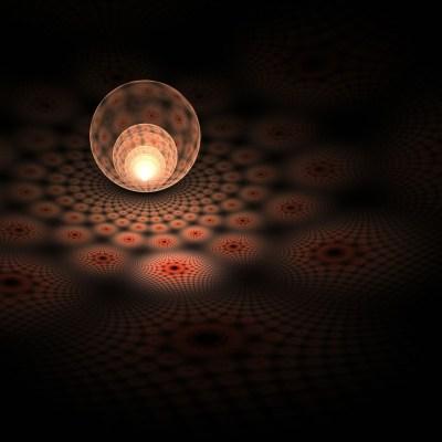 Apophysis 3D fractal ball