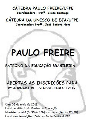 I Seminário Paulo Freire