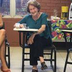 A Cátedra Paulo Freire da Universidade Federal de Pernambuco recebeu a professora Luíza Cortesão do Instituto Paulo Freire de Portugal para uma sessão de diálogo sobre a recepção do pensamento de Paulo Freire na Europa