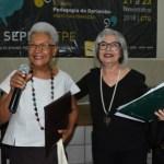 Coordenadora da Cátedra Paulo Freire professora Eliete Santiago é homenageada na 2ª Semana de Pesquisa, Ensino Extensão e Cultura (Sepec) da UFPE