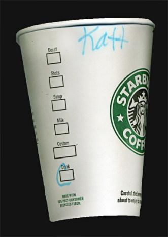 coffee cup name katt