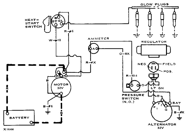d330 d333 3304 3306 – electrical system diagrams