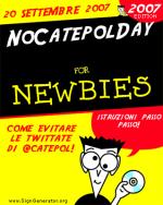 20 settembre NCD NoCatepolDay – ADERISCI ANCHE TU