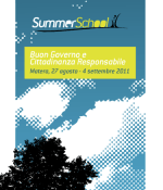 "Summer School RENA ""Buon Governo e Cittadinanza Responsabile"""