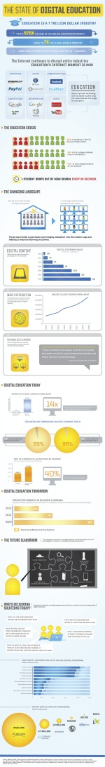 Digital Education in una infografica