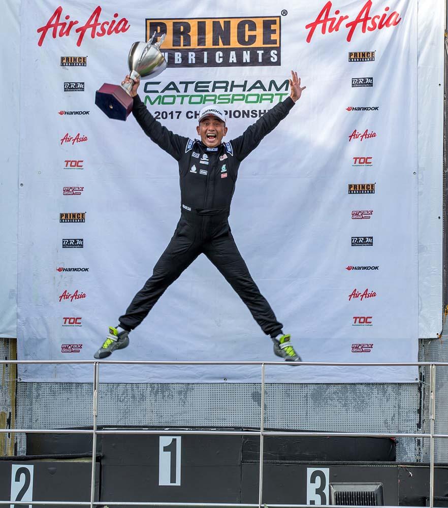 Supersport champion: Halim Mu'Azzam.