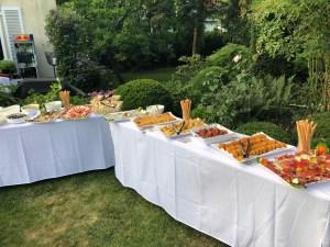 Spanisches Catering Buffet