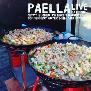 Paella Marisco und Hähnchen