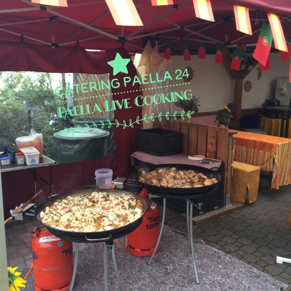 Paella Catering Live