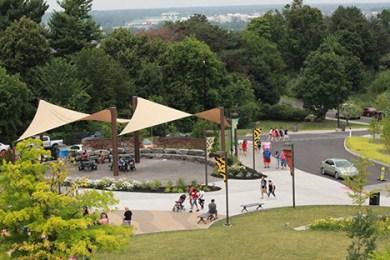 Syracuse Zoo Entrance