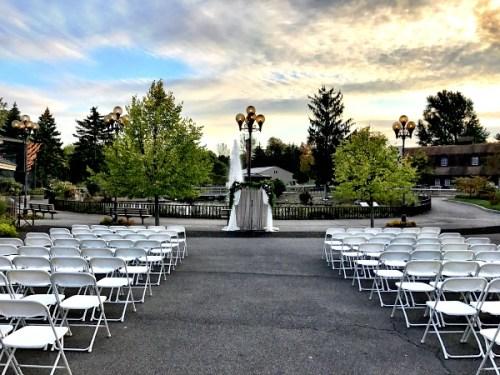 Albert Wedding Courtyard Ceremony