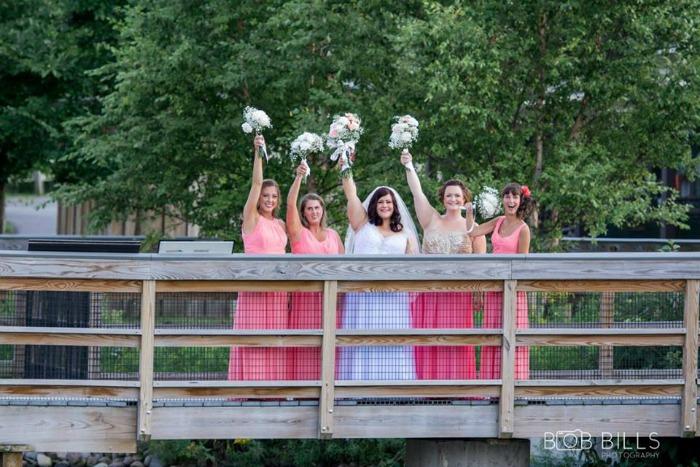 Elioff wedding party
