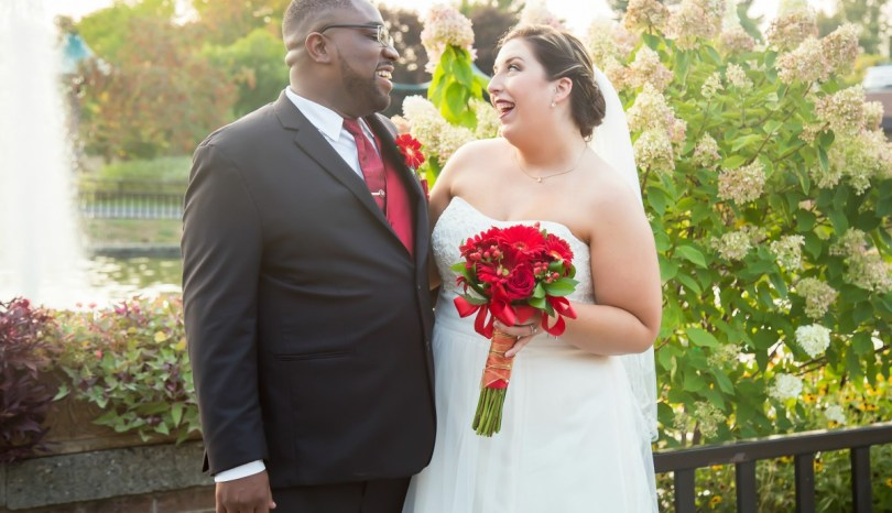 Amy and Tyrone Heppard