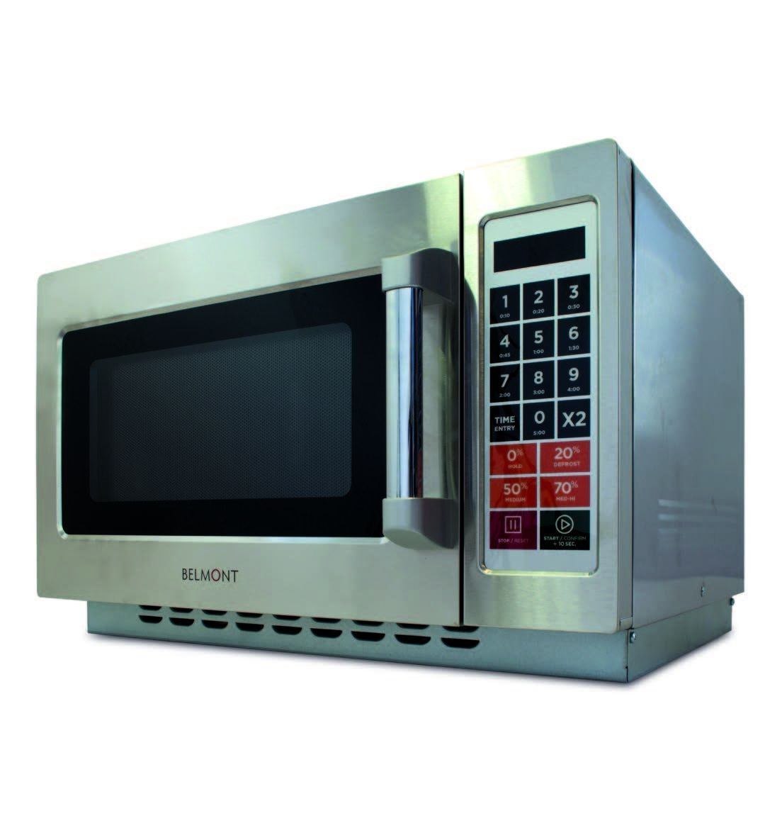 belmont mwo1000 programmable 1000w microwave with 5 power levels