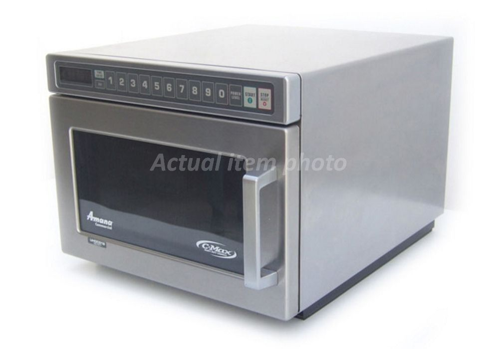amana uhdc5182 1800w commercial microwave oven