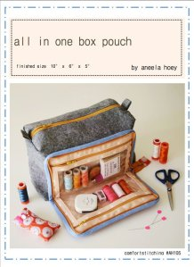 All In One Box Pouch Workshop @ Cate's Sew Modern